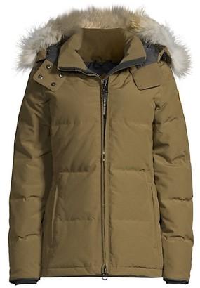 Canada Goose Chelsea Fur-Trim Parka