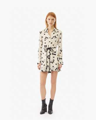 3.1 Phillip Lim Cerise Print Shirt Dress