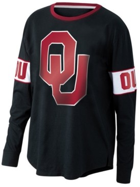 Top of the World Women's Oklahoma Sooners Backfield Long Sleeve T-Shirt