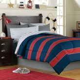 Bed Bath & Beyond Rugby 6-Piece Twin Complete Comforter Set