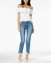 Joe's Jeans Cigarette Released Step-Hem Jeans