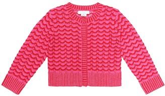 Stella McCartney Cotton-blend cardigan