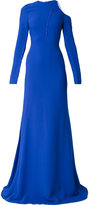Antonio Berardi asymmetric full skirt dress - women - Spandex/Elastane/Rayon - 40