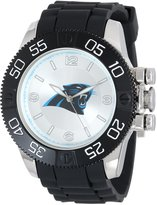 Game Time Men's NFL-BEA-CAR Beast Round Analog Watch