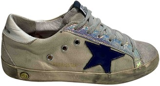 Golden Goose Superstar White Cloth Trainers