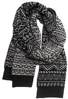 Muk Luks Men's Patterned Scarf