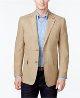 Tasso Elba Microsuede Classic-Fit Tan Sport Coat, Only at Macy's