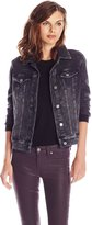 Liverpool Jeans Company Women's Powerflex Acid Wash Denim Jacket