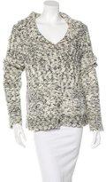 Chanel Crystal-Embellished Wool-Blend Cardigan