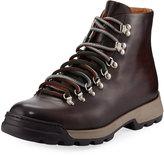 Magnanni Ovidio Leather Hiking Boot, Brown
