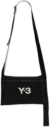 Y-3 Ch3 Sacoche Woven Nylon Bag