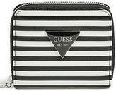 GUESS Women's Abree Striped Small Wallet