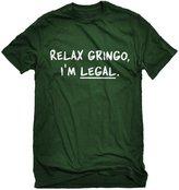 Indica Plateau Mens Relax Gringo I'm Legal T-Shirt