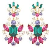 Dolce & Gabbana Crystal clip-on earrings