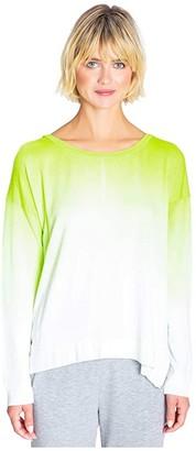 PJ Salvage Neon Pop Sweatshirt (Ivory) Women's Clothing