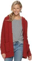 Women's SONOMA Goods for Life Long Sleeve Hooded Cardigan
