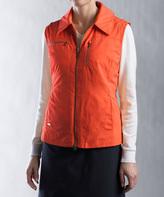 Cutter & Buck Orange WeatherTec Allegro Vest
