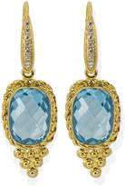 Vintouch Italy - Juno Blue Topaz Earrings
