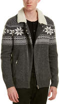 The Kooples Jacquard Wool-Blend Jacket