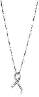 Roberto Coin Tiny Treasures Diamond Hope Pendant Necklace