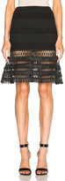 Jonathan Simkhai Mechanical Flare Skirt