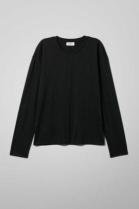 Weekday Grace Long Sleeve - Black