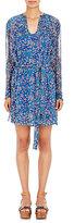 Etoile Isabel Marant Women's Chiffon Seen Dress-Blue