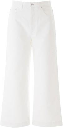 Nanushka RAMOS PALAZZO JEANS 27 White Cotton, Denim