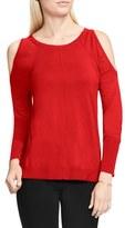Vince Camuto Cold Shoulder Sweater (Regular & Petite)