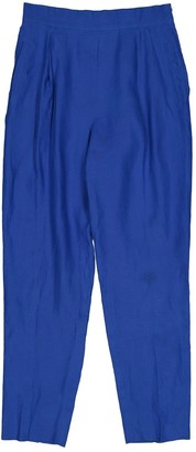 Montana Blue Linen Trousers