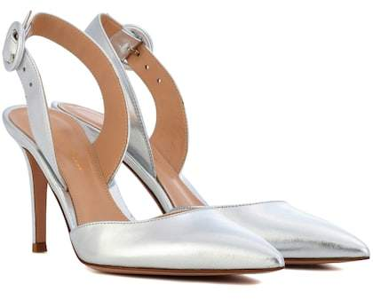 Gianvito Rossi Exclusive to mytheresa.com – Leather slingback pumps