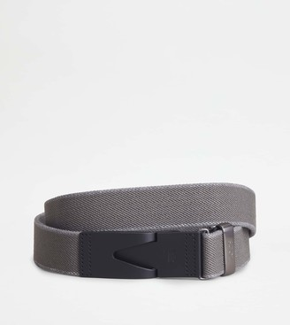 Tod's Canvas and Leather Belt