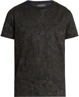 Valentino Butterfly-print cotton-jersey T-shirt