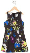 Milly Minis Girls' Abstract Print A-Line Dress