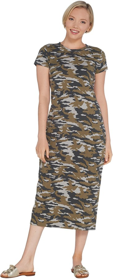 0ad3deb5532d2 Camo Shirt Dress - ShopStyle