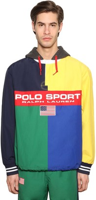 Polo Ralph Lauren Rugby Mash Up Cotton Nylon Jacket
