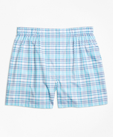Brooks Brothers Slim Fit Tonal Check Boxers