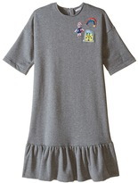 Dolce & Gabbana Back to School Sweatshirt Dress (Big Kids)