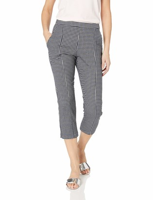 BCBGeneration Women's Belted Woven Ankle Pant