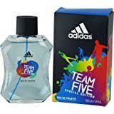 adidas TEAM FIVE by EDT SPRAY 3.4 OZ (SPECIAL EDITION) for MEN ---(Package Of 3)