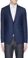 Paul Smith 'Kensington' wool hopsack soft blazer