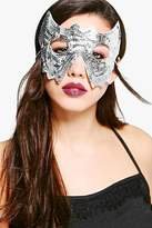 boohoo Robyn Sequin Halloween Headband Face Mask