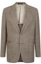 Armani Collezioni Linen-Wool-Silk Jacket