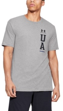 Under Armour Men's Vertical Left Chest Short Sleeve Tee