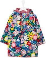 Stella McCartney floral collage reversible parka