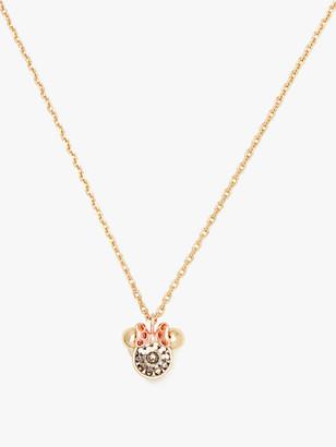 Kate Spade X Minnie Mouse Stone Pendant