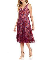 Antonio Melani Pammy Two Tone Lace Dress