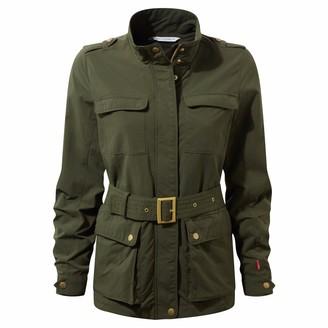 Craghoppers Ladies NosiLife Safari Jacket Parka Green 16