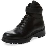Prada Solid Round-Toe Boot