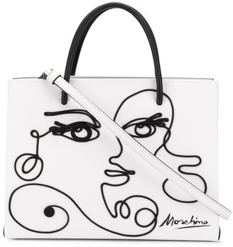 Moschino Cornely Woman's Drawing tote bag